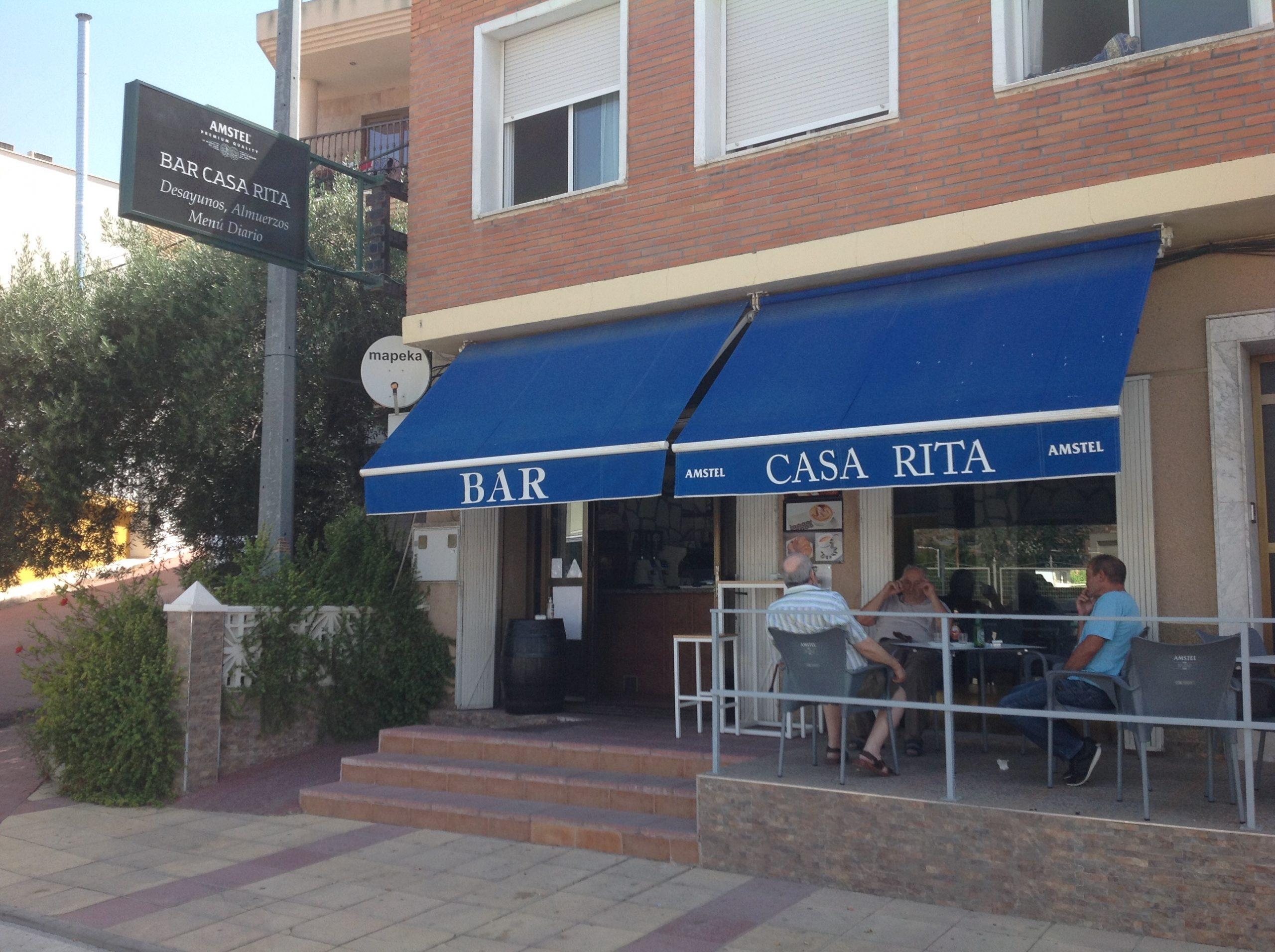 Bar casa Rita fachada